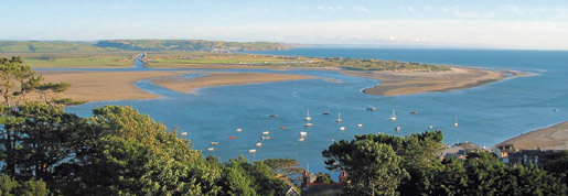 View from Aberdovey Hillside Park